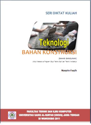 Cover Teknologi Bahan