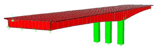 Perancangan jembatan box girder dengan sap 2000 v.14