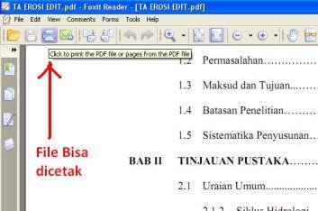 File PDF bisa dicetak
